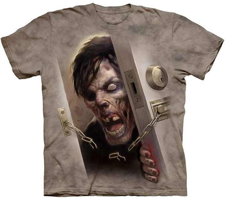 Tričko The Mountain Zombie at the Door (US M / EU L)