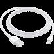 Apple kabel USB-A - Lightning, M/M, nabíjecí, datový, 1m, bílá