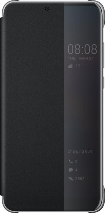 Huawei Original S-View Cover Pouzdro pro P20, černá