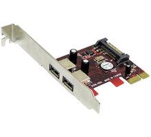 Addonics 2-port USB 3.0 PCIe-1X controller - AD2U3PX1