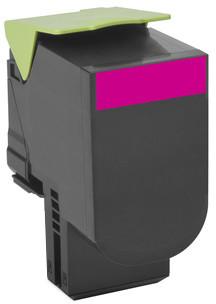 Lexmark 80C2XM0, magenta, return