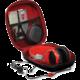 Port Designs NUUK univerzální stylové pouzdro na sluchátka, černá