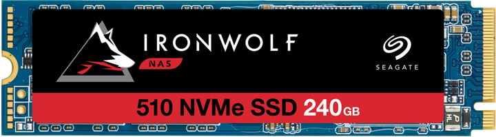 Seagate IronWolf 510, M.2 - 240GB