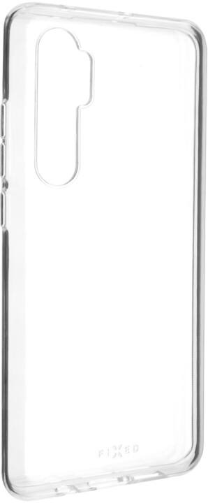 FIXED ultratenké TPU gelové pouzdro Skin pro Xiaomi Mi Note 10 Lite, 0.6 mm, čirá