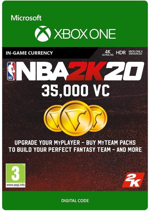 NBA 2K20 - 35000 VC (Xbox ONE) - elektronicky