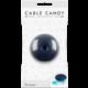 Cable Candy kabelový organizér Donut, modrá