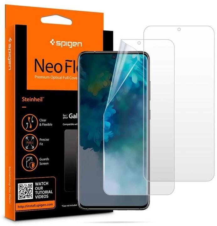Spigen ochranná fólie Neo Flex HD pro Samsung Galaxy S20, 2ks