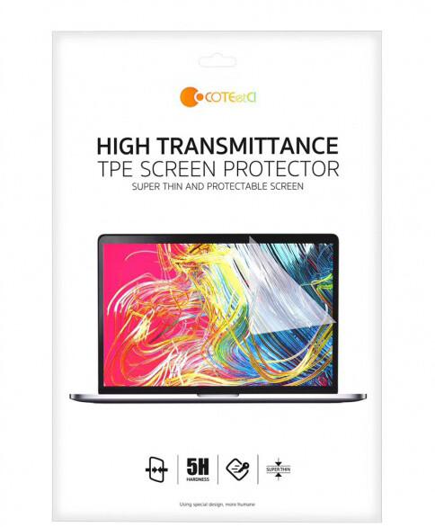 COTEetCI ochranná fólie HD pro Macbook Pro 15'' (2016 - 2018)