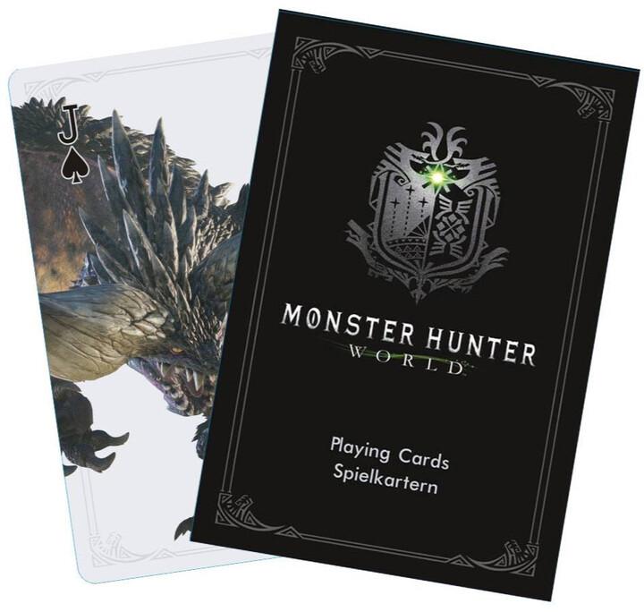Hrací karty Monster Hunter World - Monsters