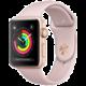 Apple Watch series 3 42mm pouzdro zlatá/pískově růžový řemínek  + Voucher až na 3 měsíce HBO GO jako dárek (max 1 ks na objednávku)