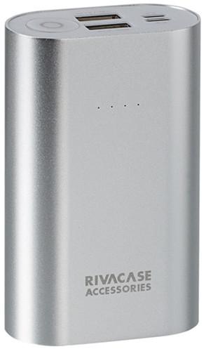 RivaCase RIVAPOWER 1010, 10000mAh, stříbrná