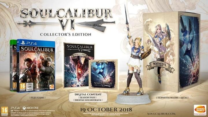 Hra XONE - SoulCalibur VI - Collector's Edition
