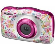 Nikon Coolpix W150, květinový + Backpack kit - VQA113K001