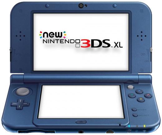 Nintendo New 3DS XL, modrá