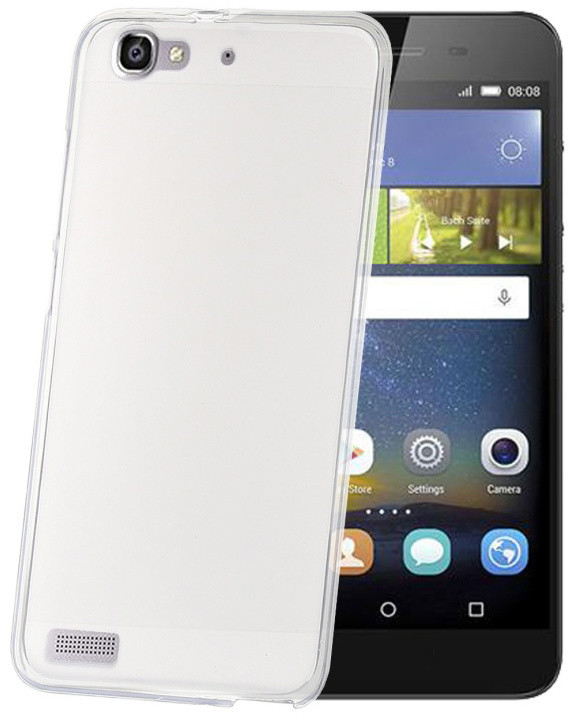 CELLY Gelskin TPU pouzdro pro Huawei P8 Lite Smart, bezbarvé