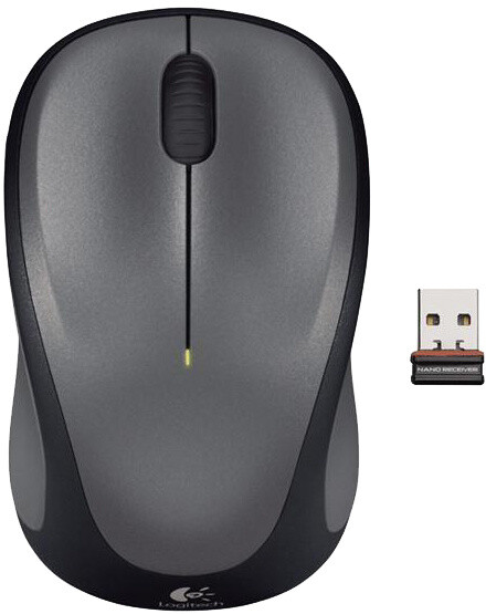 Logitech Wireless Mouse M235, šedá