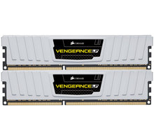 Corsair Vengeance Low Profile White 8GB (2x4GB) DDR3 1600