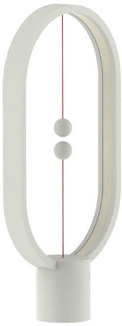 Heng Balance Lamp Plastic Ellipse USB, bílá