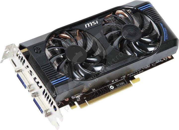 MSI N560GTX-M2D1GD5, PCI-E