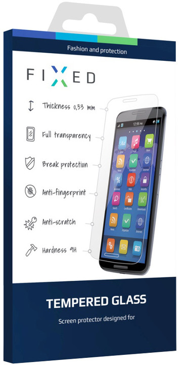 FIXED ochranné tvrzené sklo pro Lenovo S60, 0.33 mm