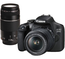 Canon EOS 2000D + EF-S 18-55mm IS + EF 75-300mm DC - 2728C017