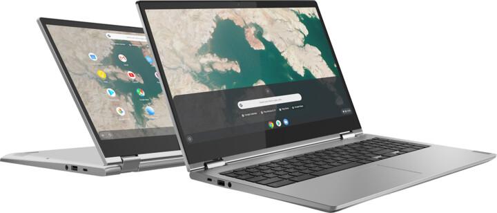 Lenovo Chromebook C340-15, šedá
