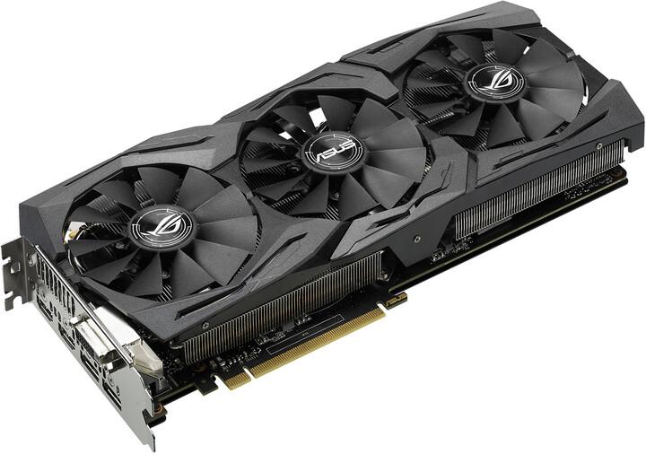 ASUS Radeon RX 480 STRIX-RX480-O8G-GAMING, 8GB GDDR5