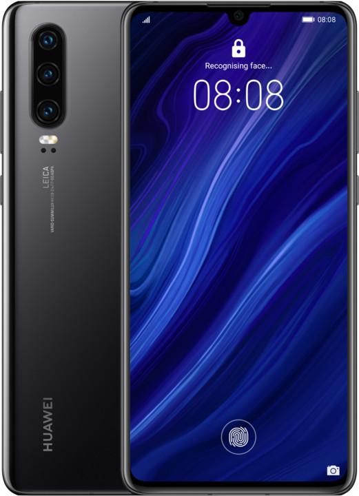 Huawei P30, 6GB/128GB, černá