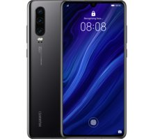 Huawei P30, 6GB/128GB, Black - SP-P30DSBOM
