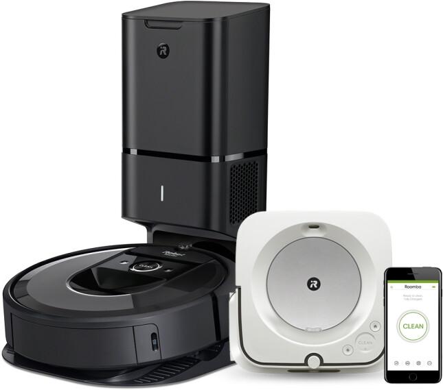 iRobot Roomba i7+ + Braava jet m6