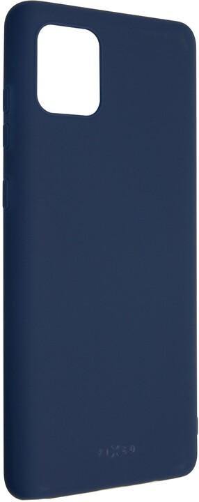 FIXED Story zadní pogumovaný kryt pro Samsung Galaxy Note 10 Lite, modrá
