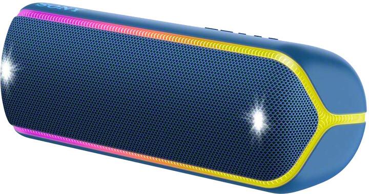 Sony SRS-XB32, modrá