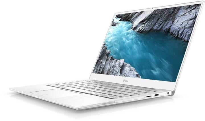 Dell XPS 13 (9380) Touch, bílá