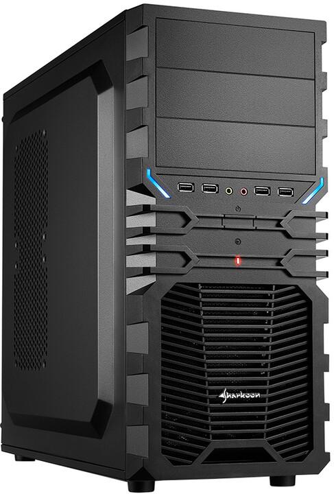 Sharkoon VG4-S, černá