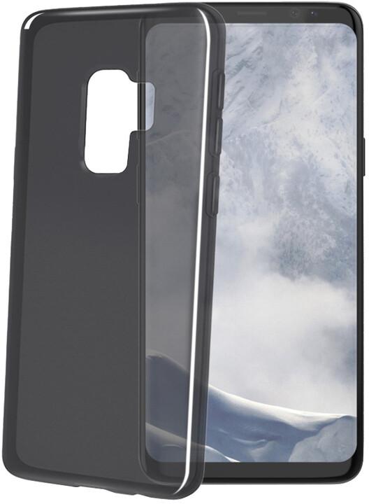 CELLY Gelskin TPU pouzdro pro Samsung Galaxy S9, černé