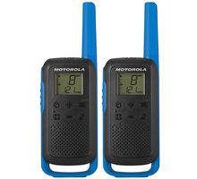 Motorola TLKR T62, modrá, vysílačky