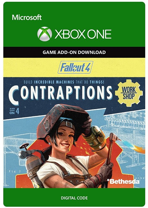 Fallout 4: Contraptions Workshop (Xbox ONE) - elektronicky