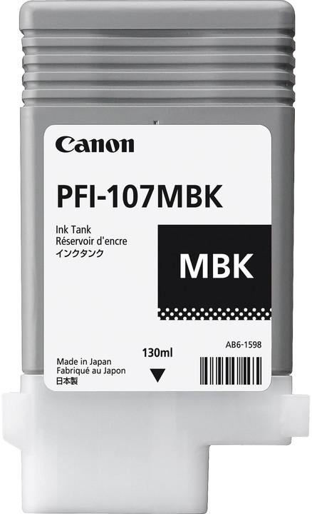 Canon PFI-107MBK, black