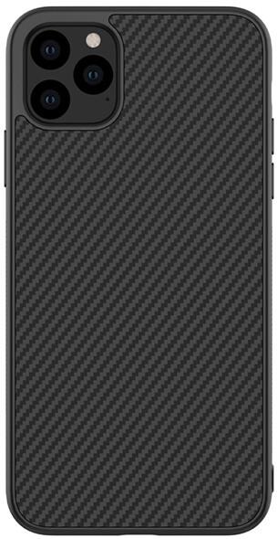 Nillkin Synthetic Fiber ochranný zadní kryt pro iPhone 11 Pro Max, černá