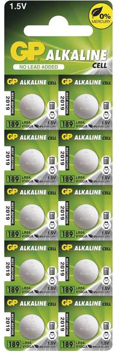 GP, 189, alkalická, 10ks