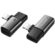 Mcdodo adaptér Lightning - 2x Lightning, černá