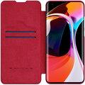 Nillkin Qin Book pouzdro pro Xiaomi Mi 10/10 Pro, červená