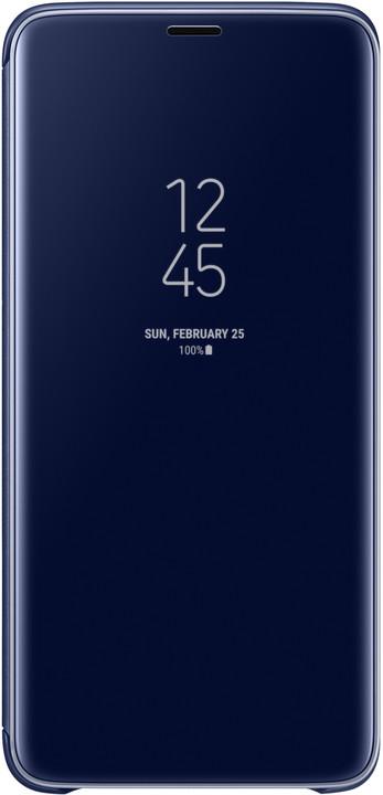 Samsung flipové pouzdro Clear View se stojánkem pro Samsung Galaxy S9+, modré