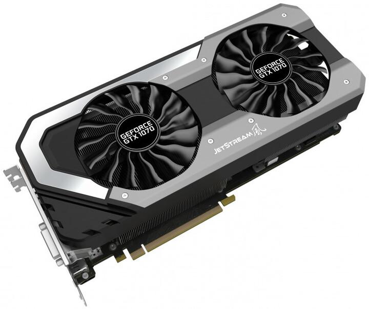 PALiT GeForce GTX 1070 Super JetStream, 8GB GDDR5
