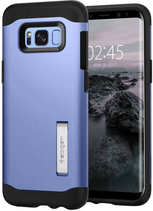 Spigen Slim Amor pro Samsung Galaxy S8+, blue coral