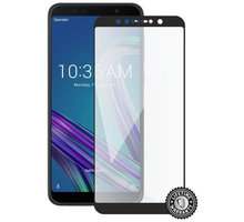 Screenshield ochrana displeje Tempered Glass pro ASUS Zenfone Max Pro (full cover), černá - ASU-TG25DBZB602KL-D