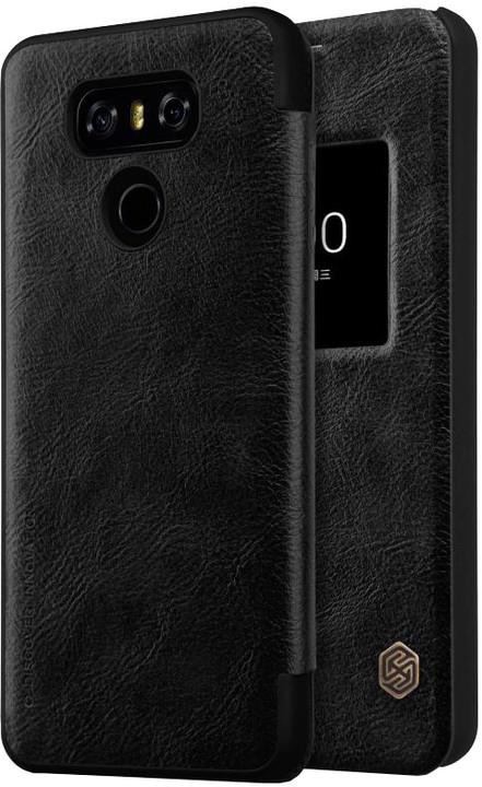 Nillkin Qin S-View pouzdro pro LG H870 G6 - černé