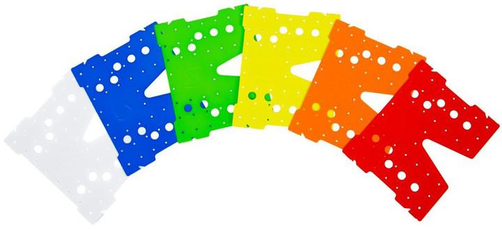 SilentiumPC sada barevných krytek pro chladič Fortis 3 v2 (HE1425), 6 barev