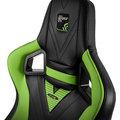 Noblechairs EPIC, GeForce GTX Edition, černá/zelená