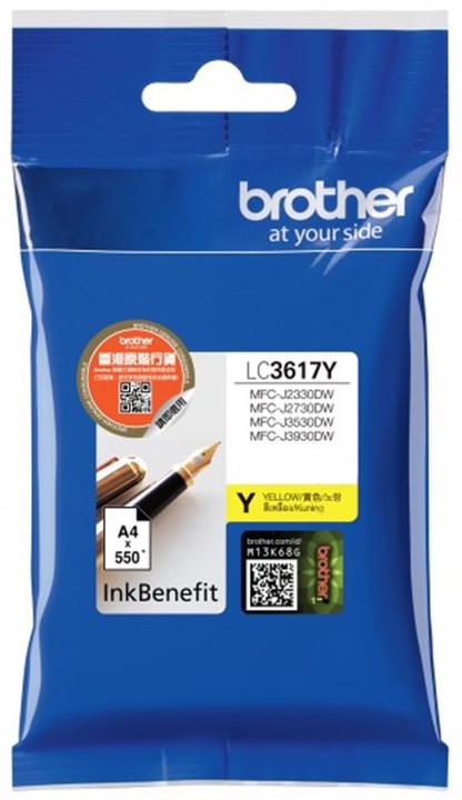 Brother LC3617Y, žlutý